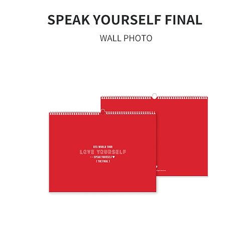 [ON HAND] Speak Yourself Wall Photo