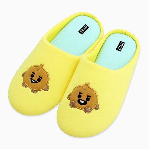[ON-HAND] BT21 Baby Indoor Slippers - Shooky