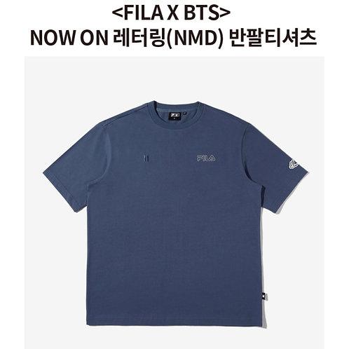 [ARRIVING SOON] FILA X BTS NMD T-Shirt - Night Shadow ( Size 100)