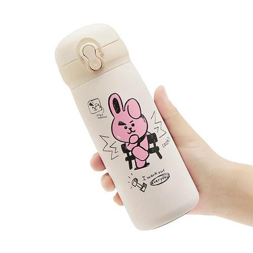 [ON HAND] BT21 - Cooky Milk Tumbler (350ml)