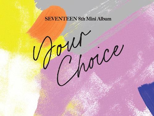 [PRE-ORDER] 8th Mini Album Seventeen - Your Choice
