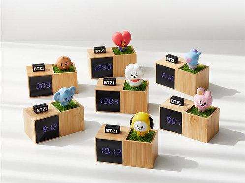 [PRE-ORDER]  BT21 BABY Digital Table Clock
