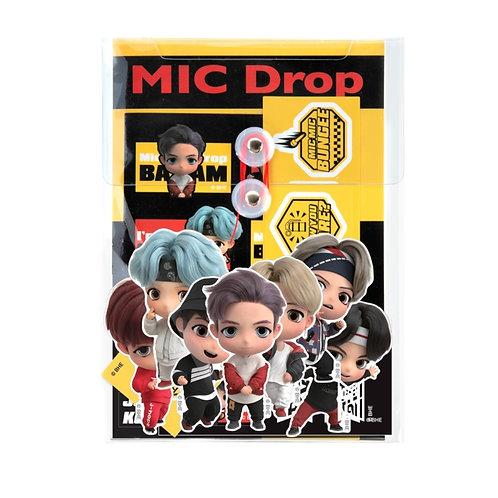 [ON-HAND] BTS TinyTAN Mic Drop Sticker Pack
