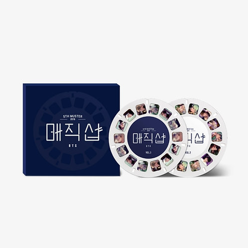 [ARRIVING SOON] 5th Muster MAGIC SHOP Reel Set (BTS Official Film Viewer)