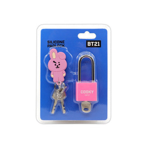 [ON HAND] BT21 Cooky Silicone Padlock