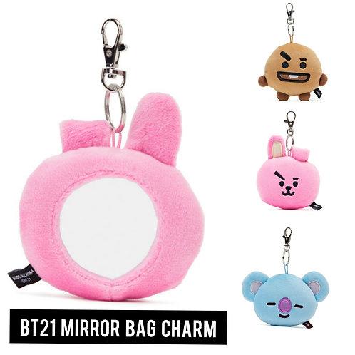 [ON HAND] BT21 -  Mirror Bag Charm