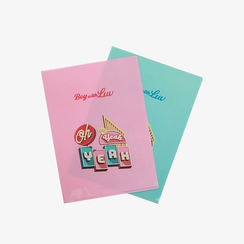 [ON HAND] Boy With Luv L-Holder Set