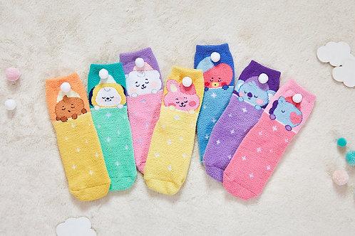 [PRE-ORDER] BT21 BABY Sleep Socks Dream of Baby