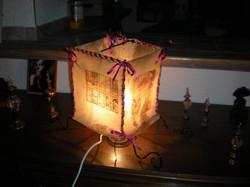 Lampe Parchemin