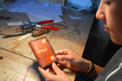 Atelier DIY porte carte de pêche
