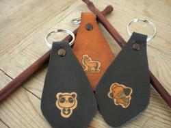 Trio Panda, Chien et Cheval