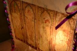 Détail - Lampe Parchemin