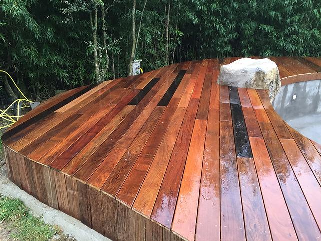 terrasse IPE atelier piscines