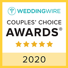 wedding wire couple's choice award for 2020