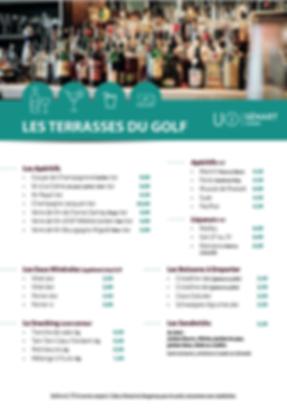 Boisson Terrasse restaurant