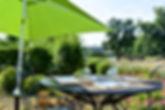 Émeraude restaurant terrasse Cély Barbizon