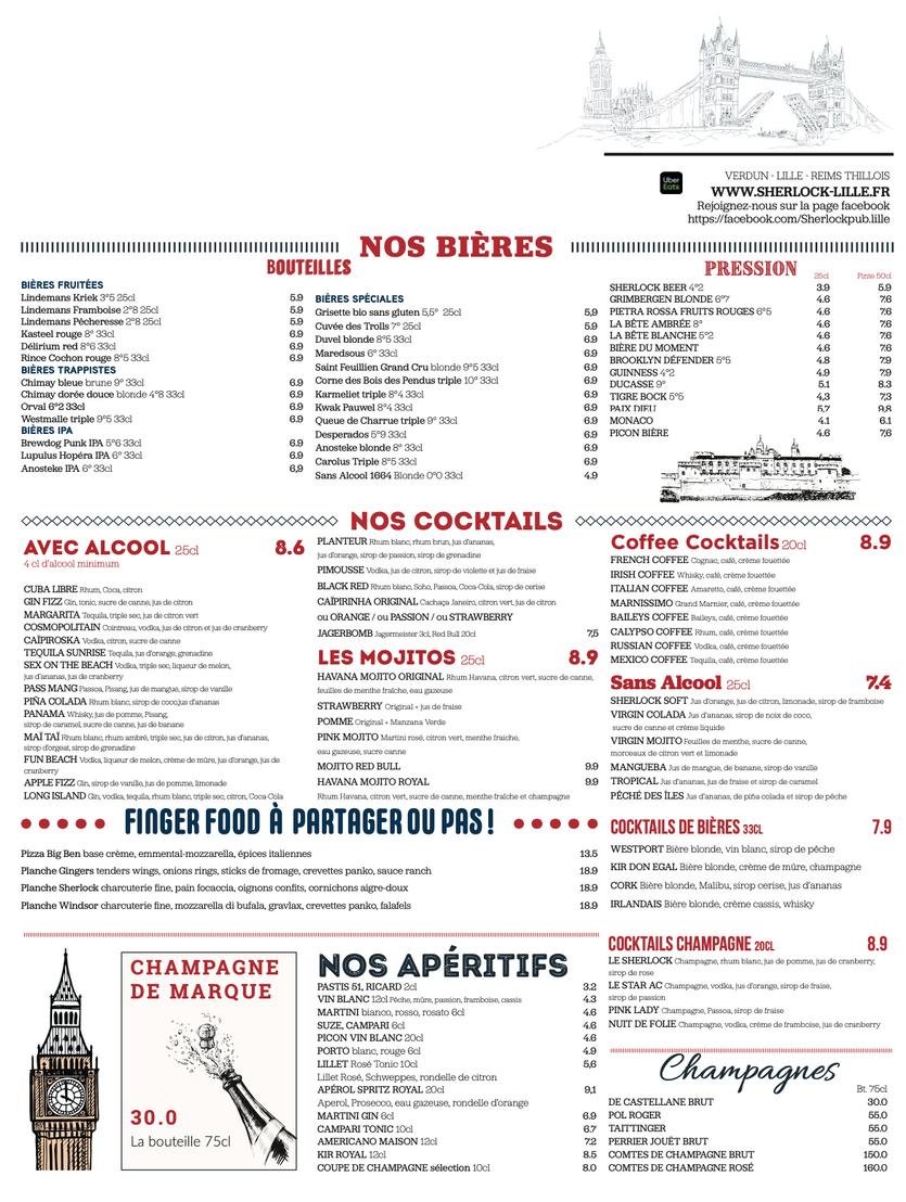 1 Restaurant Lille Brasserie Lille - The
