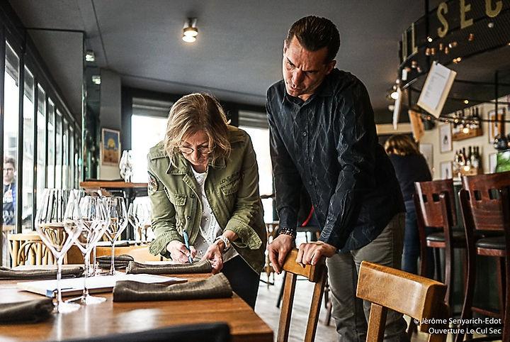 Cul Sec | Bar à vins cave à manger Reims
