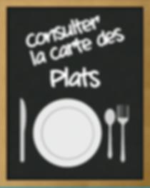 Carte des plats | Restaurant Reims | Au Cul de Poule |
