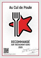 meilleur restaurant reims Au Cul de Poul