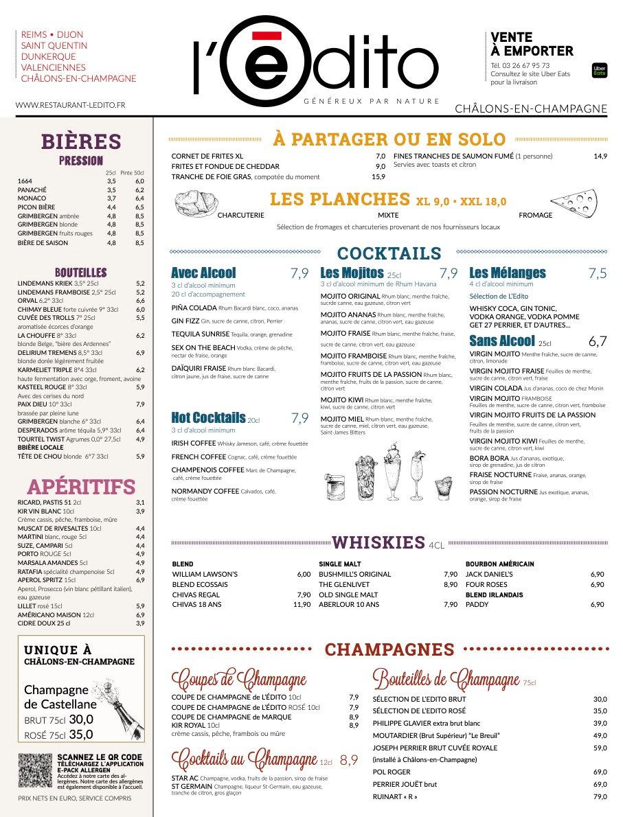1 Restaurant Châlons Brasserie Châlons