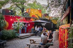 Terrasse Canal Saint Martin café a | restaurant bar terrasse atypique - paris 10 canal