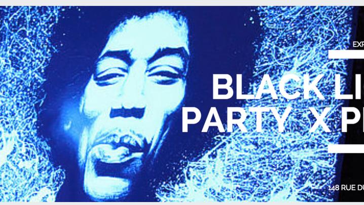 BLACK LIGHT PARTY X PBOY