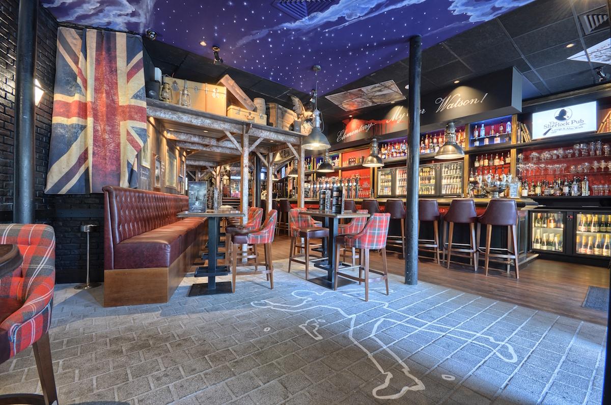 Brasserie Lille Sherlock Pub