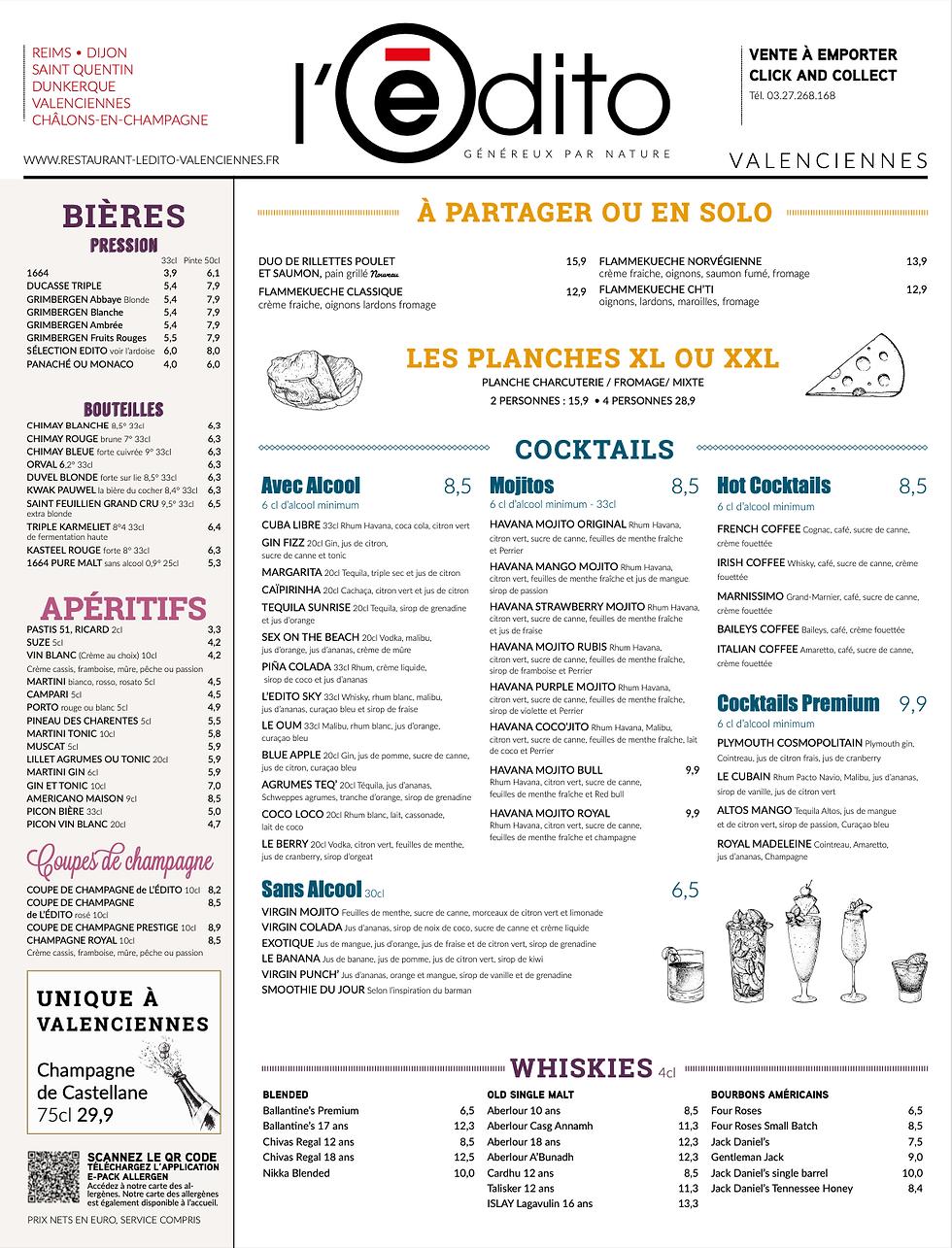 carte Restaurant Valenciennes Edito Traiteur Valenciennes 1.png