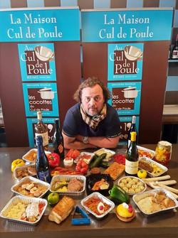 Stephane Kikel aux Cocottes Reims Traiteur et plats à emporter