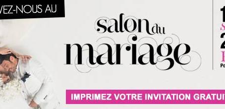 Salon du Mariage Septembre 2016