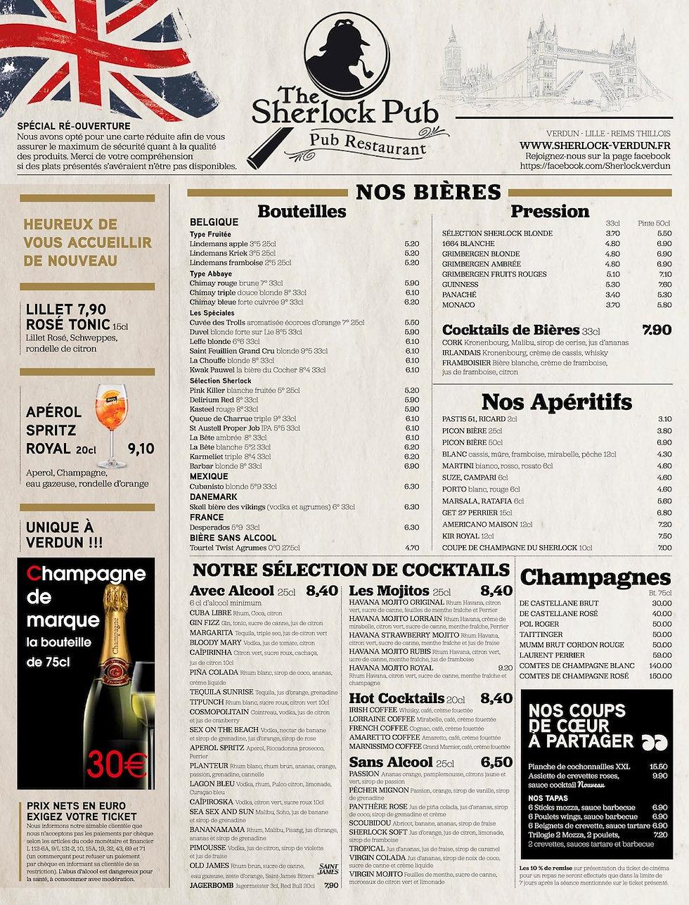 1 Restaurant Verdun Brasserie Verdun - T