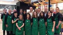 Ouverture d'un Nouveau Starbucks Metz