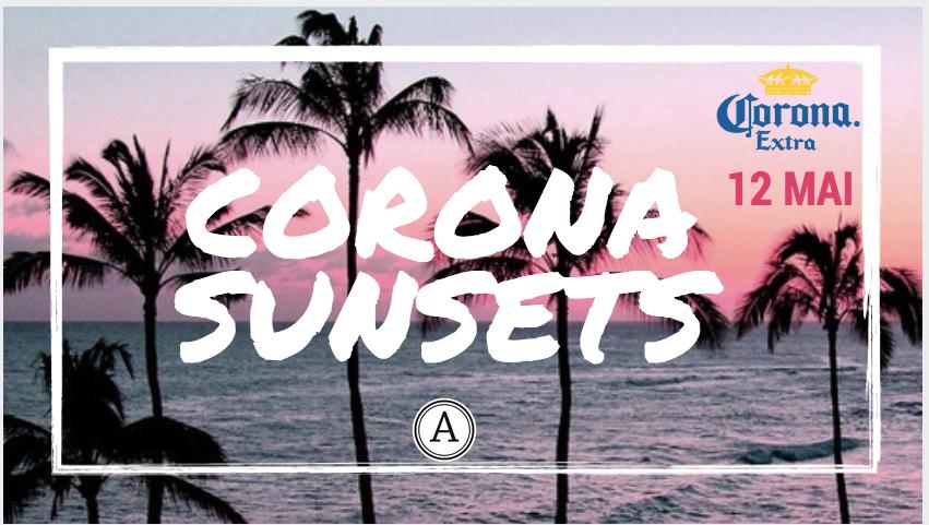 Music. Food. Art. Prenez ce que vous voulez. Pendant une après-midi redécouvrer la chaleur du Mexique , La Corona Sunsets se pose dans le jardin du Café A pour une ambiance tropicale, zen et conviviale. En afterwork ou en before, profitez donc des beaux jours en vous mettant à l'heure du Sunset.  - ATELIER TATOO : tatoos éphémères réalisés par notre hôtesse - SELFIE BOX : immortaliser l'expérience SUNSET avec un souvenir de la soirée Corona au Café A avec un tirage photo sur fond de coucher de soleil - LIVE PERFORMANCE : un duo de musicien passe de table en table pour chanter , esprit concert acoustique sur la plage ! - Surprises, cadeaux…