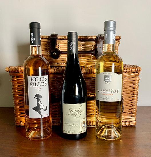 French Wine Trilogy