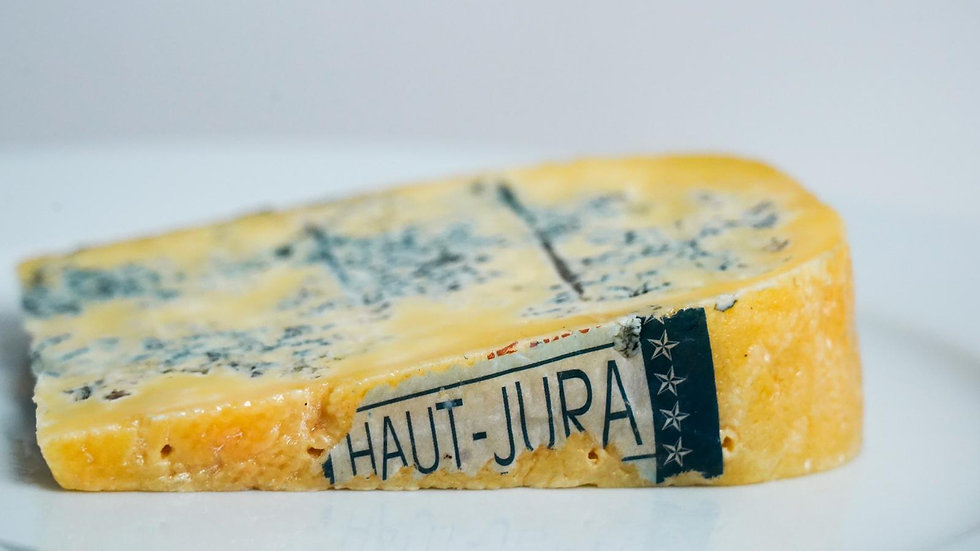 Creamy French blue cheese