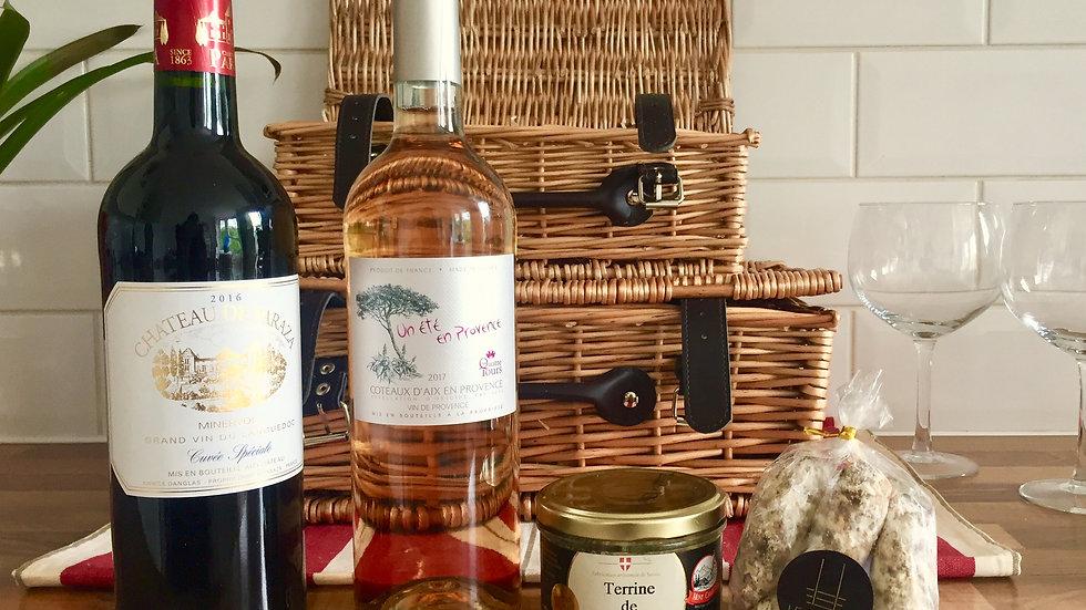 French Wine Gift Hamper
