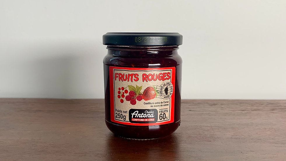 Red Berry Corsican Jam