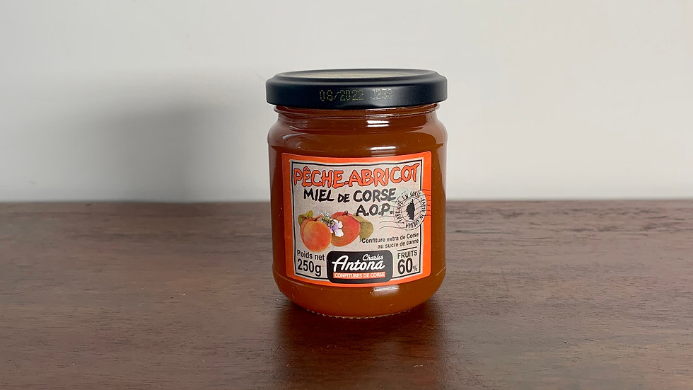 Peach and Apricot Corsican Jam