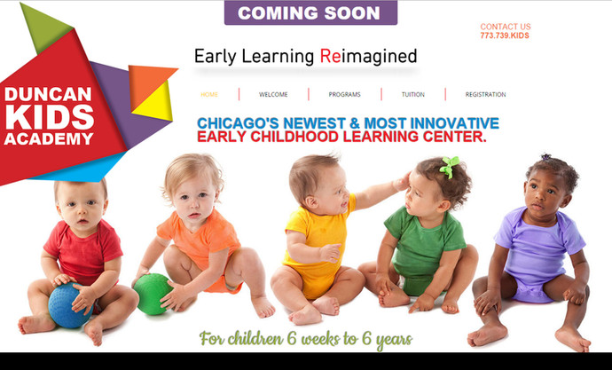 STUDIOHAMMER designs new website for Duncan Kids Academy