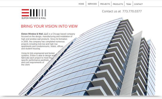 STUDIOHAMMER DESIGNS NEW RESPONSIVE WEBSITE FOR ELSTON WINDOW AND WALL