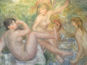 VISIT RENOIR MUSEUM & A FRENCH SCHOOL WITH KATHLEEN AND GEORGES DURING THEIR HOMESTAY IN PROVENCE