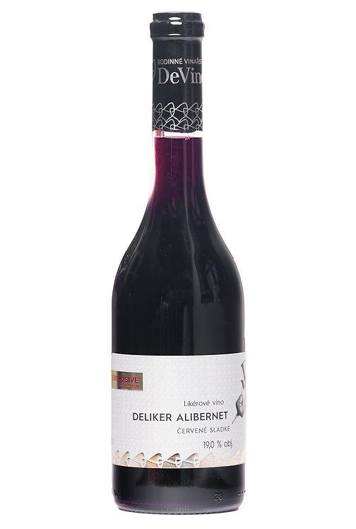 DeLiker ALIBERNET 2017 - Likérové víno č. šarže F11