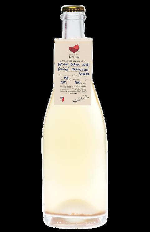 PÉT-NAT blanc 2019 č.š. PET19-01 suchý
