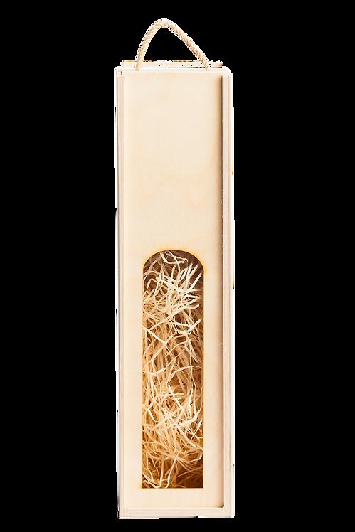 Dřevěná kazeta na 1 láhev