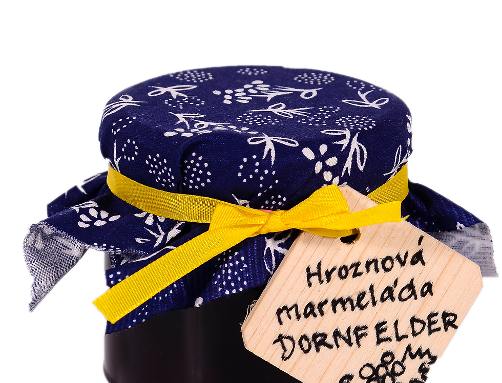 Hroznová marmeláda (Dornfelder) 2020 sladké