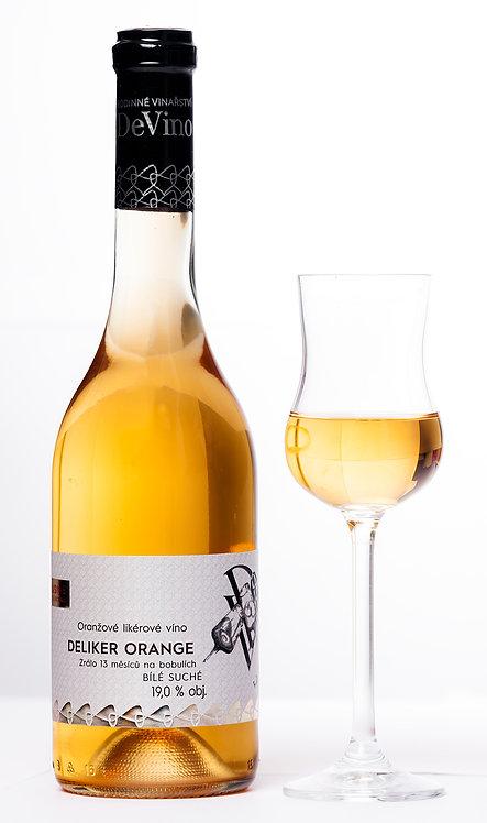 Deliker ORANGE 2016 - oranžové likérové víno