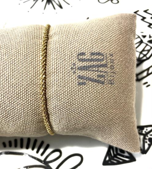 Bracelet maille torsadée - ZAG Bijoux