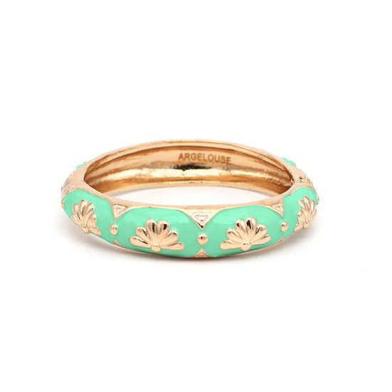 Bracelet Amok Eventail - Vert d'Eau