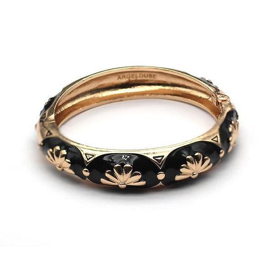 Bracelet Amok Eventail - Noir